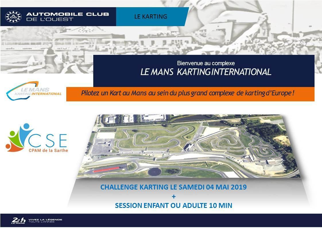 Cpam challenge karting 2019